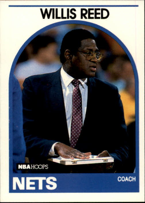 1989-90 Hoops #92 Willis Reed CO SP UER/(Gambling, should be Grambling)
