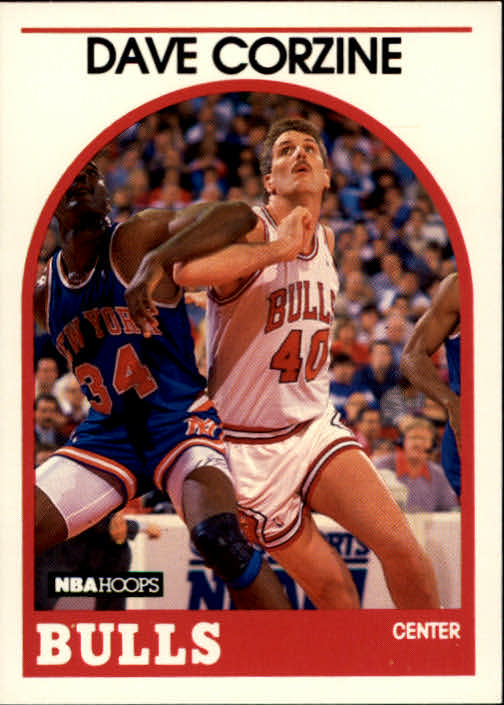 1989-90 Hoops #93 Dave Corzine SP