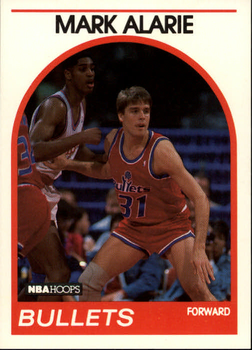 1989-90 Hoops #94 Mark Alarie