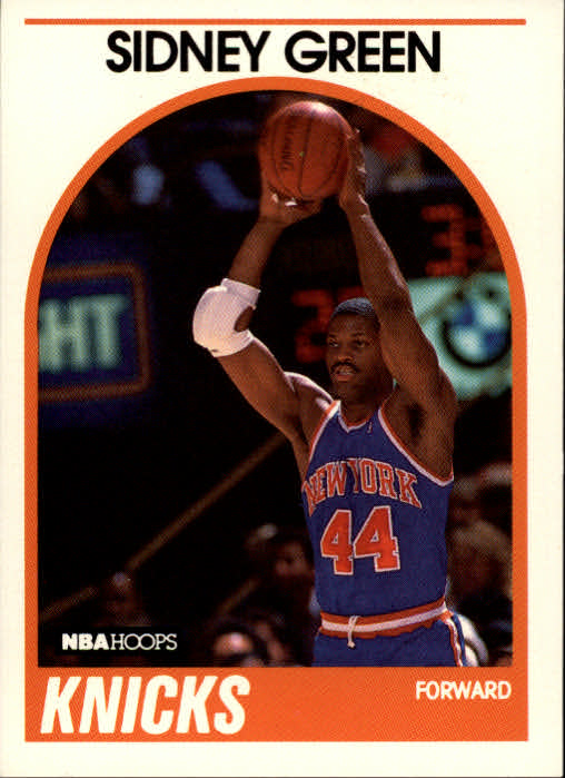 1989-90 Hoops #97 Sidney Green SP