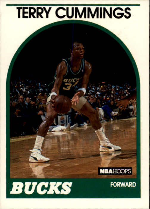 1989-90 Hoops #100 Terry Cummings SP
