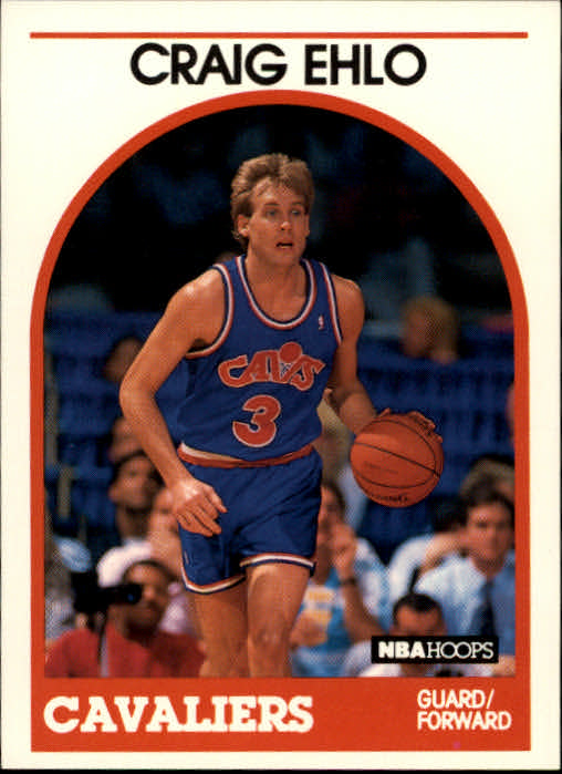 1989-90 Hoops #106 Craig Ehlo RC