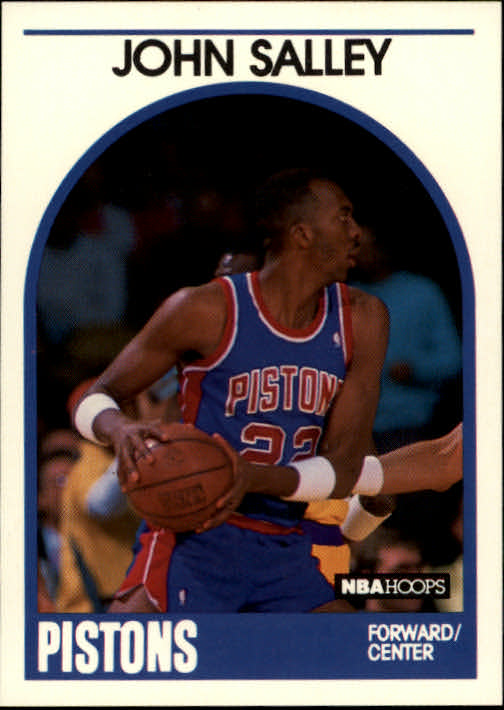 1989-90 Hoops #109 John Salley