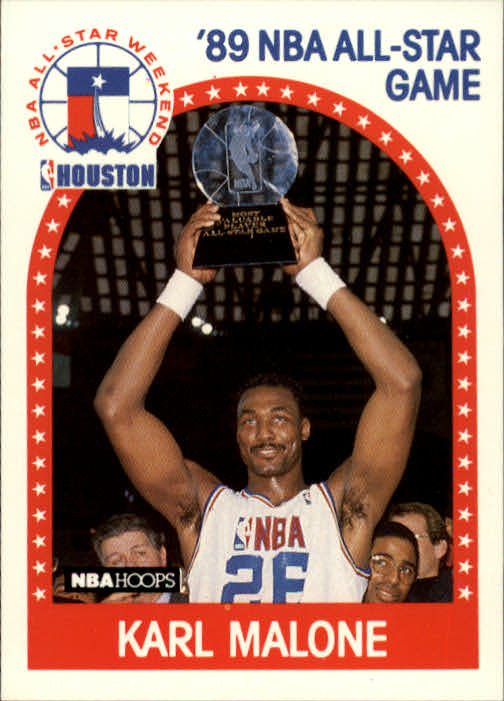 1989-90 Hoops #116 Karl Malone AS