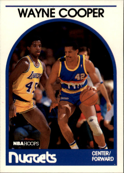 1989-90 Hoops #122 Wayne Cooper SP