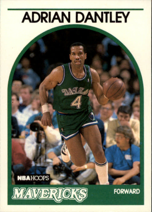 1989-90 Hoops #125 Adrian Dantley