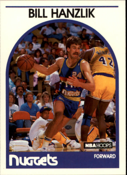 1989-90 Hoops #129 Bill Hanzlik