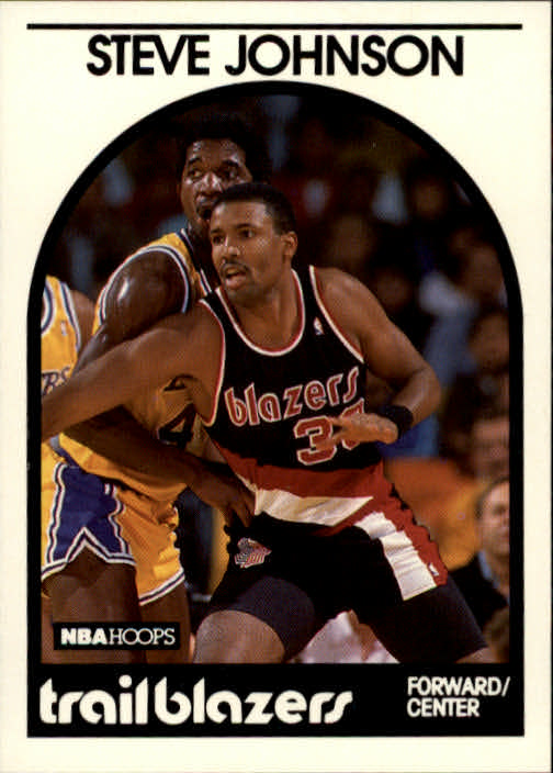 1989-90 Hoops #132 Steve Johnson SP
