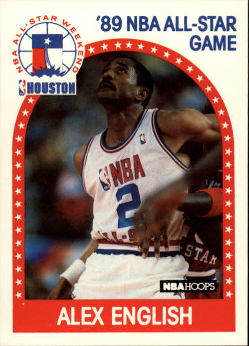 1989-90 Hoops #133 Alex English AS