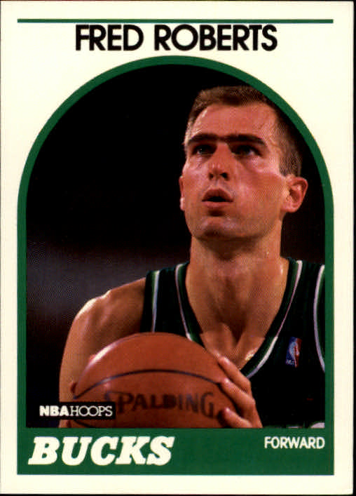 1989-90 Hoops #136 Fred Roberts RC