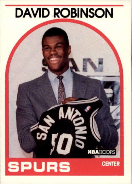 1989-90 Hoops #138 David Robinson SP RC