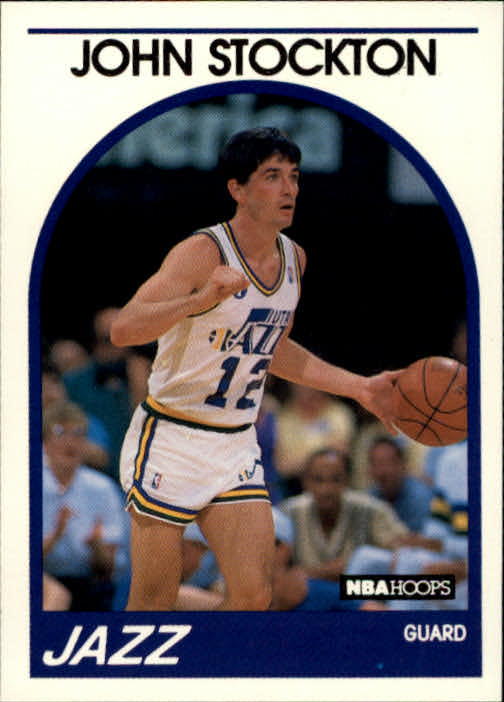 1989-90 Hoops #140 John Stockton
