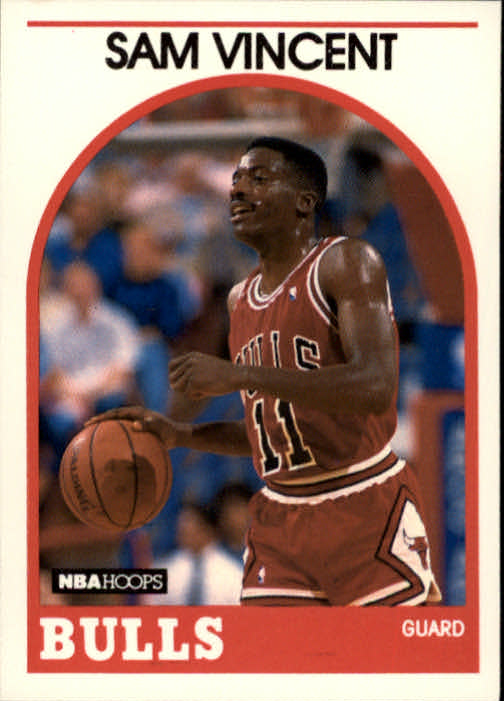 1989-90 Hoops #149 Sam Vincent SP RC