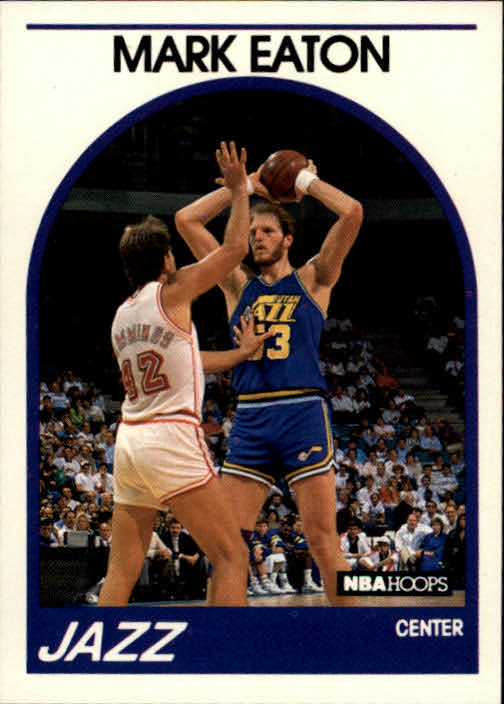1989-90 Hoops #155 Mark Eaton