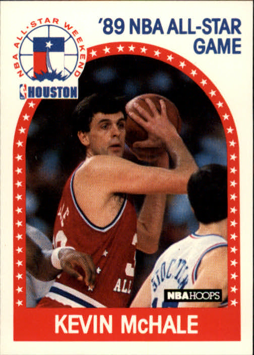 1989-90 Hoops #156 Kevin McHale AS UER/(No TM on Celtics logo on back)