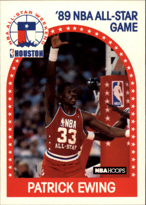 1989-90 Hoops #159 Patrick Ewing AS
