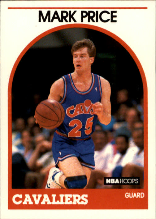 1989-90 Hoops #160 Mark Price