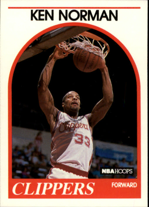 1989-90 Hoops #162 Ken Norman RC