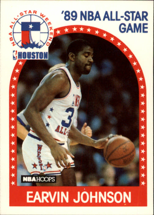 1989-90 Hoops #166 Magic Johnson AS