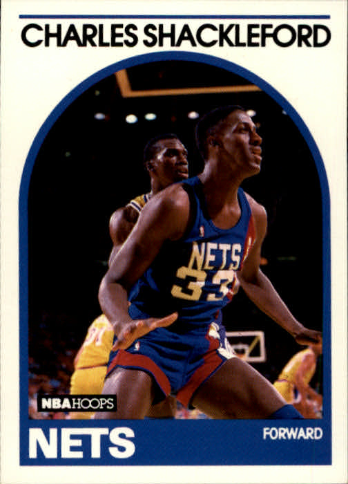 1989-90 Hoops #169 Charles Shackleford RC