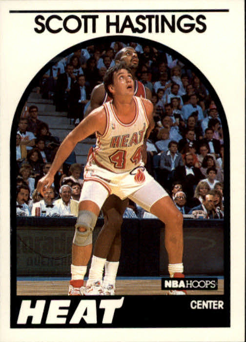 1989-90 Hoops #176 Scott Hastings SP