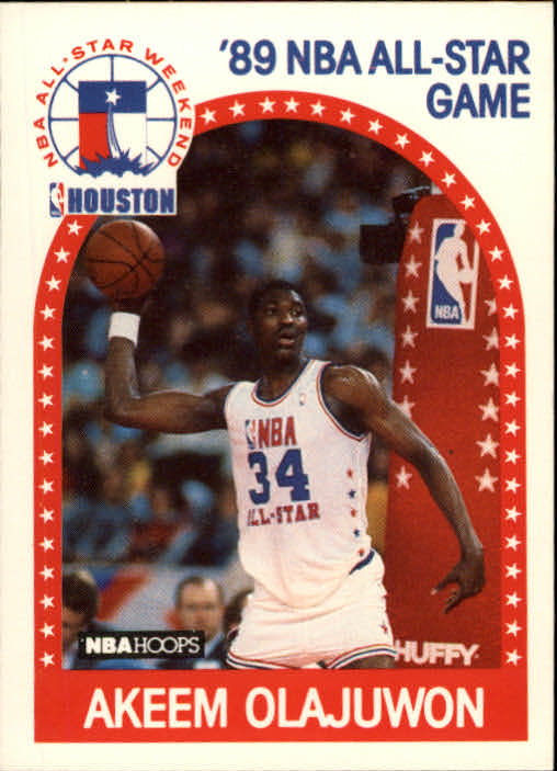 1989-90 Hoops #178 Hakeem Olajuwon AS