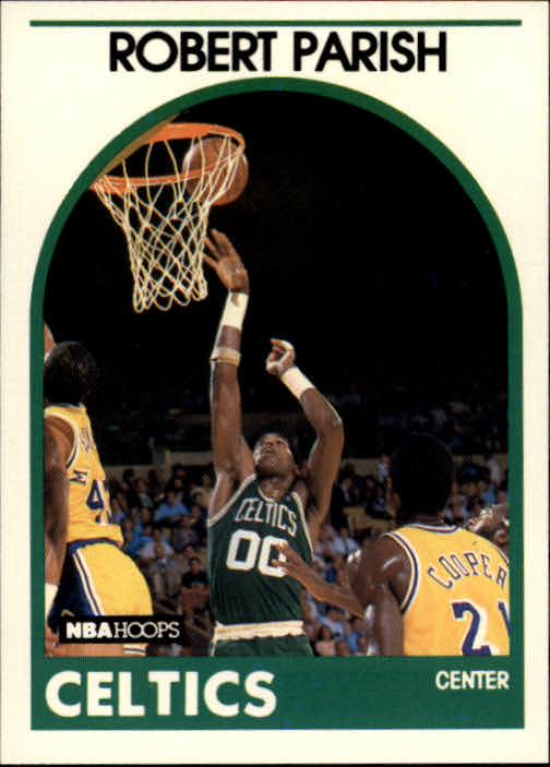 1989-90 Hoops #185 Robert Parish