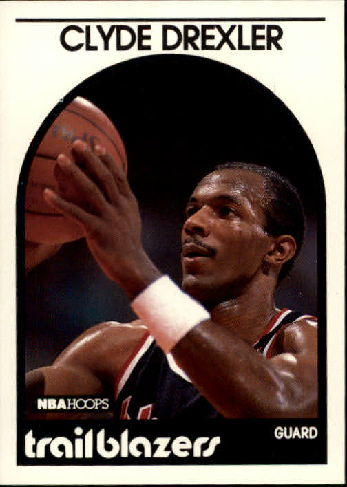 1989-90 Hoops #190 Clyde Drexler UER/(4th pick, should be 14th)
