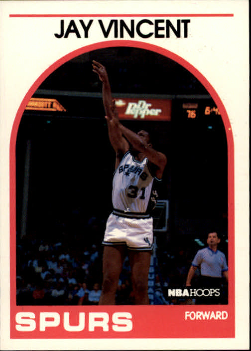 1989-90 Hoops #191 Jay Vincent SP