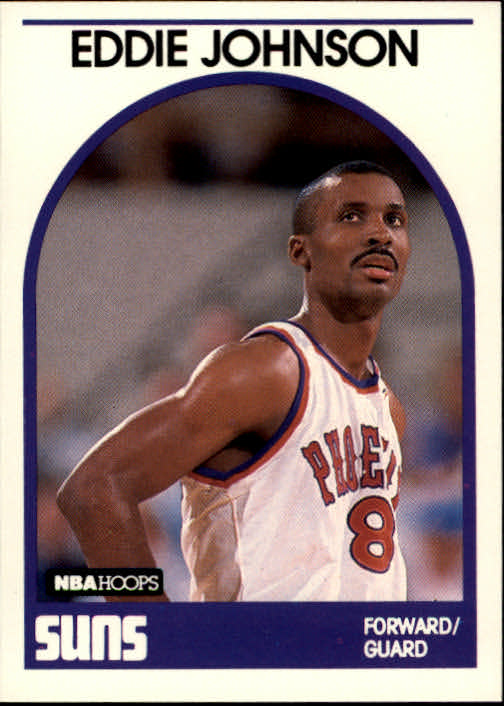 1989-90 Hoops #195 Eddie Johnson