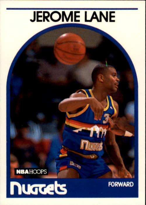 1989-90 Hoops #201 Jerome Lane RC