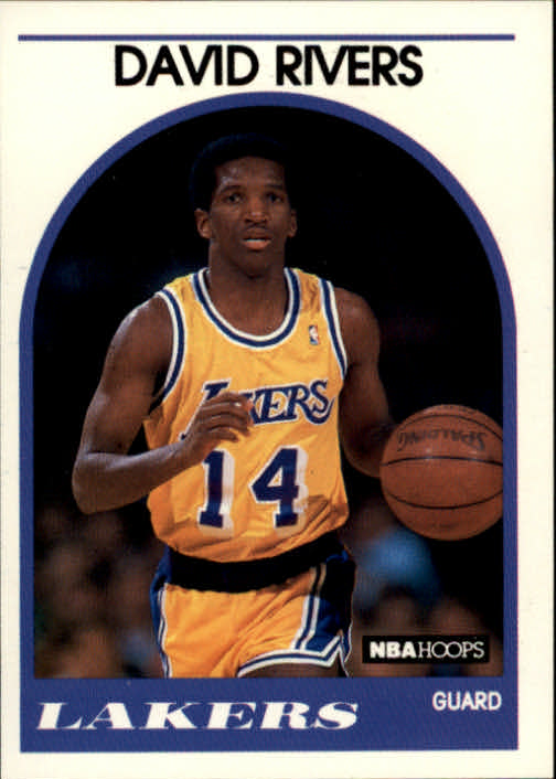 1989-90 Hoops #203 David Rivers SP