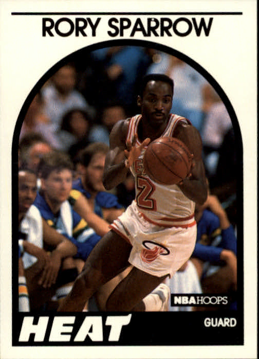 1989-90 Hoops #207 Rory Sparrow