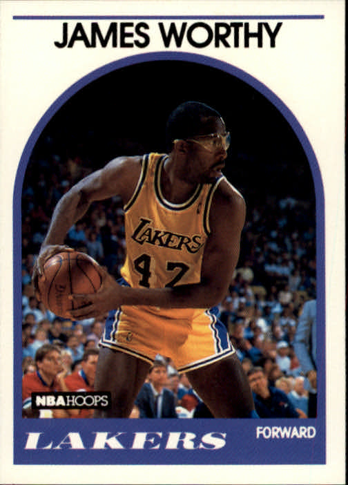 1989-90 Hoops #210 James Worthy