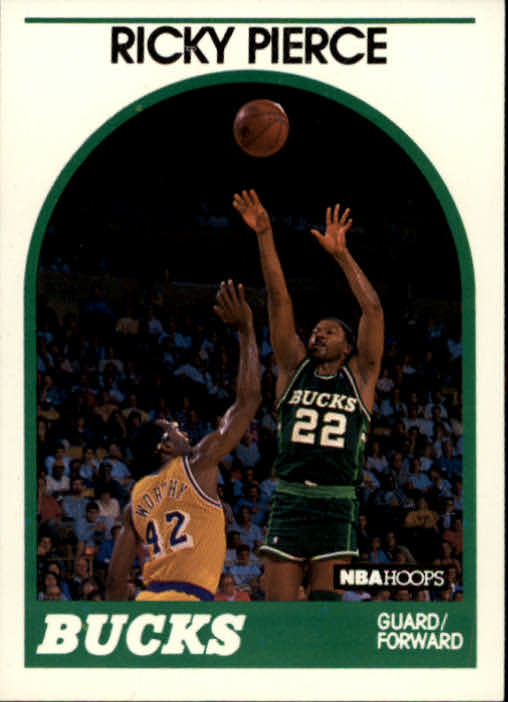 1989-90 Hoops #212 Ricky Pierce