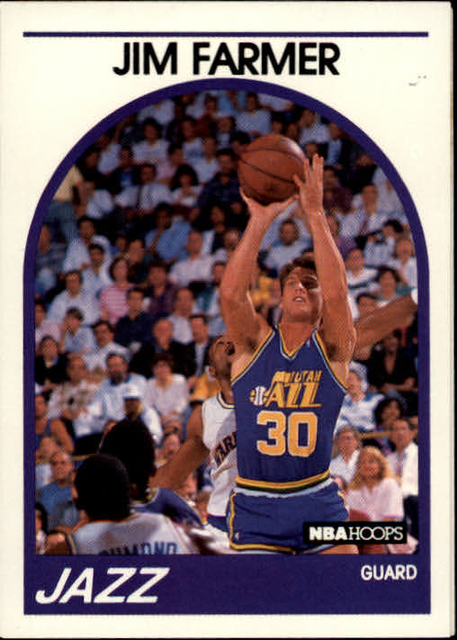1989-90 Hoops #227 Jim Farmer SP