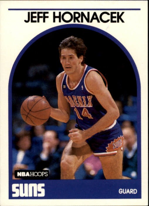 1989-90 Hoops #229 Jeff Hornacek RC