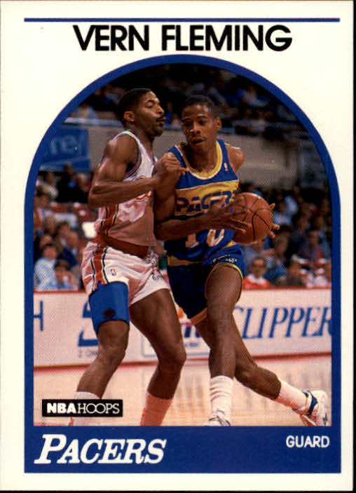 1989-90 Hoops #231 Vern Fleming