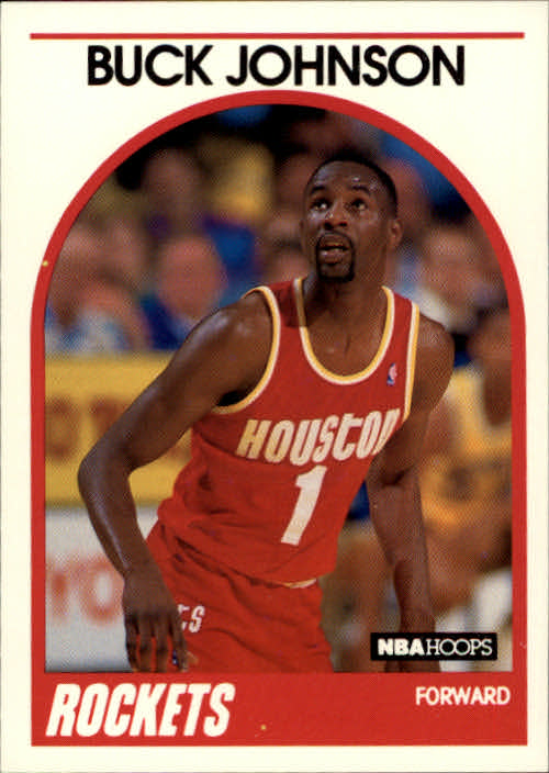 1989-90 Hoops #237 Buck Johnson RC