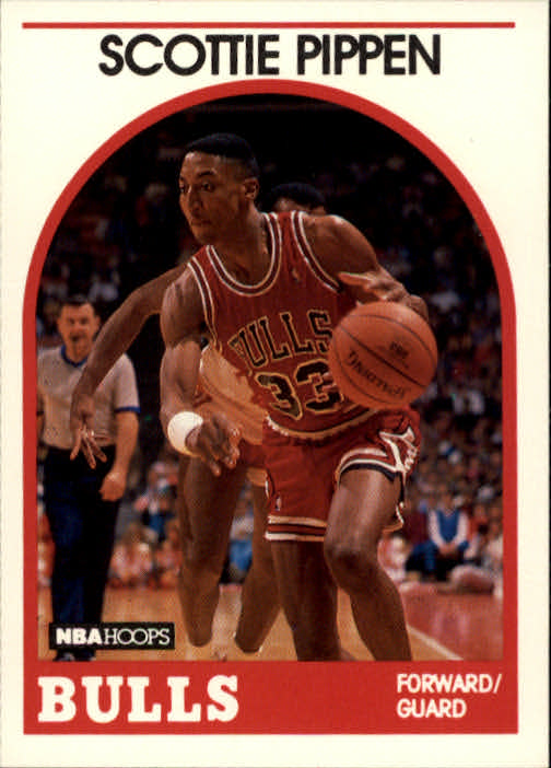 1989-90 Hoops #244 Scottie Pippen
