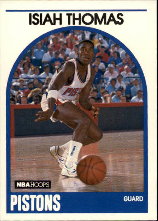1989-90 Hoops #250 Isiah Thomas
