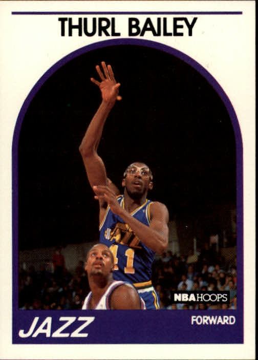 1989-90 Hoops #251 Thurl Bailey