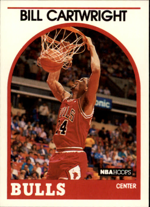 1989-90 Hoops #255 Bill Cartwright