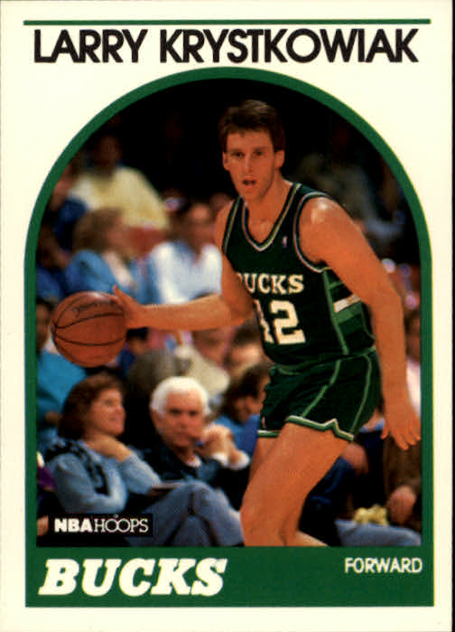 1989-90 Hoops #258 Larry Krystkowiak RC