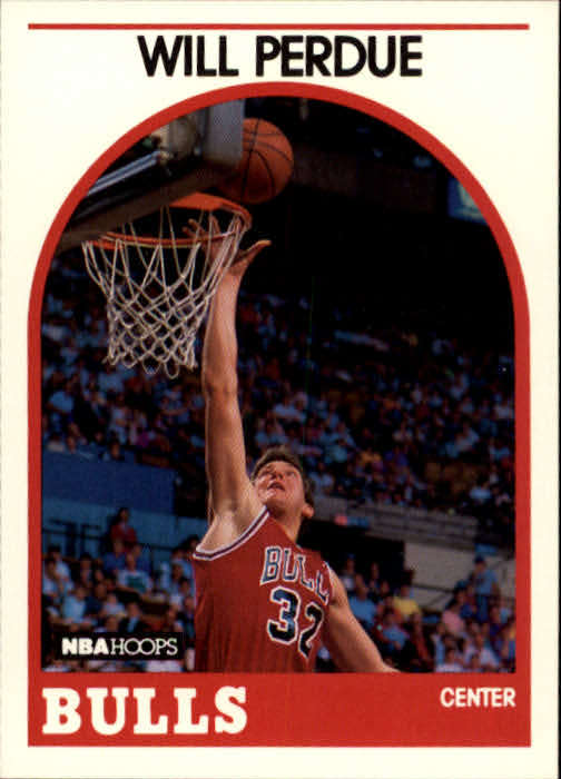 1989-90 Hoops #259 Will Perdue RC