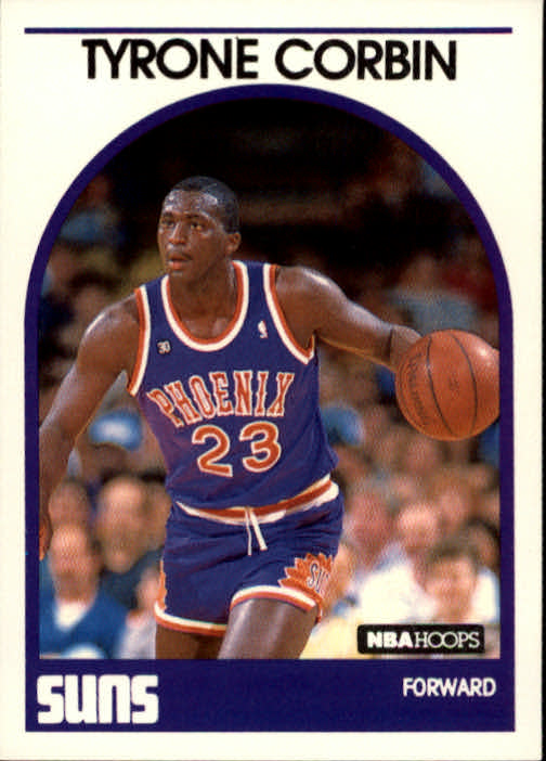 1989-90 Hoops #263 Tyrone Corbin SP RC