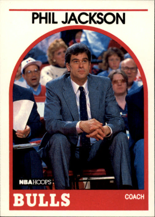 1989-90 Hoops #266 Phil Jackson CO