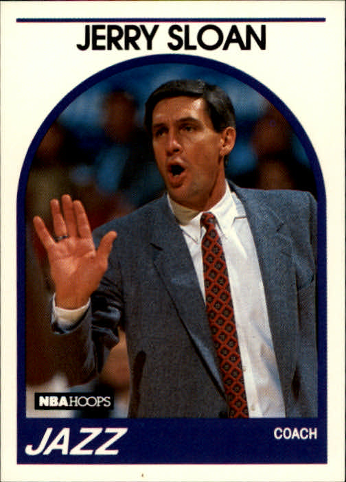 1989-90 Hoops #267 Jerry Sloan CO