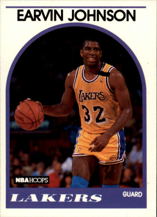 1989-90 Hoops #270 Magic Johnson