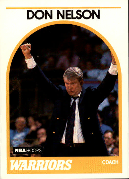 1989-90 Hoops #273 Don Nelson CO